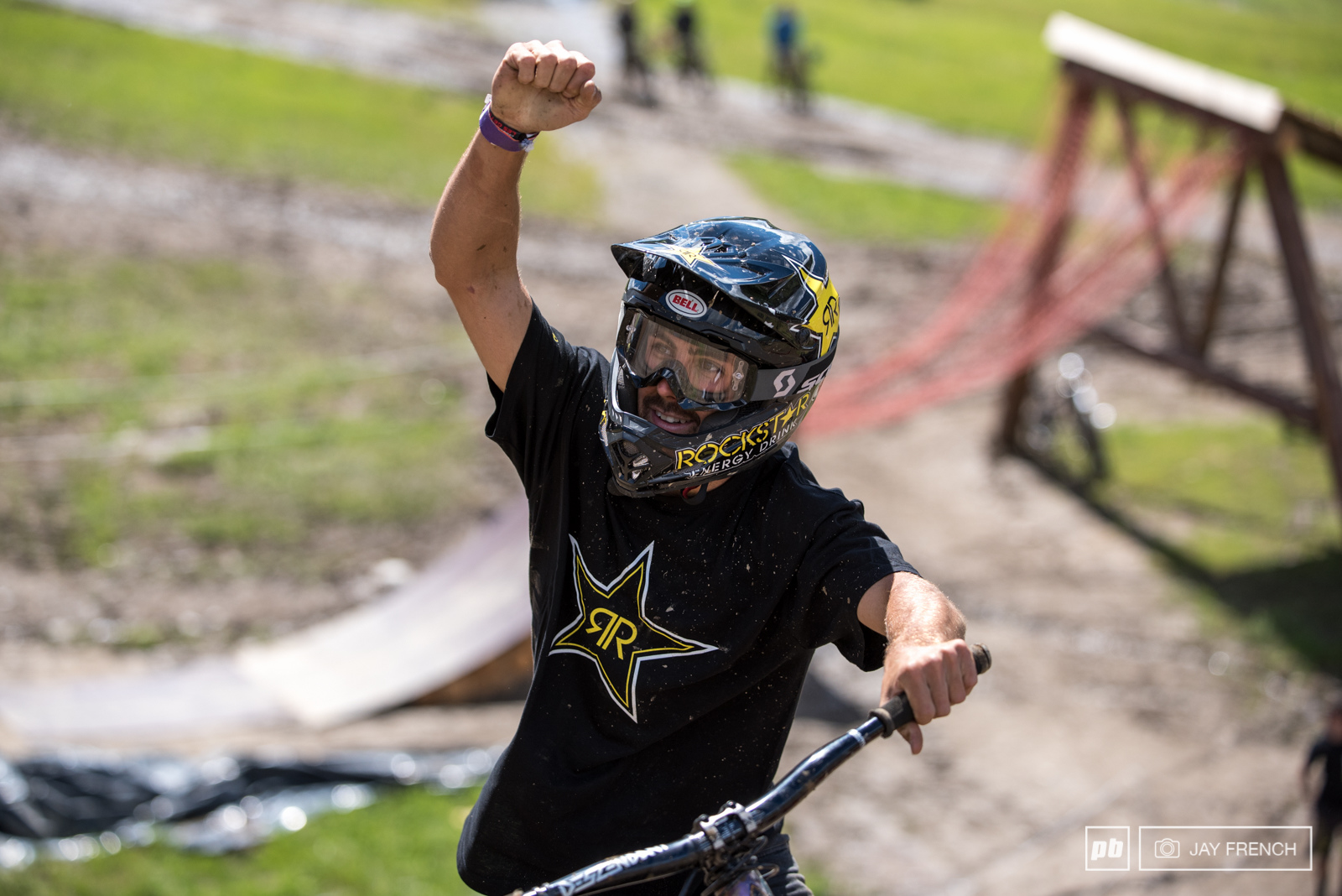 A Day in the Life with Louis Reboul Crankworx Les Gets