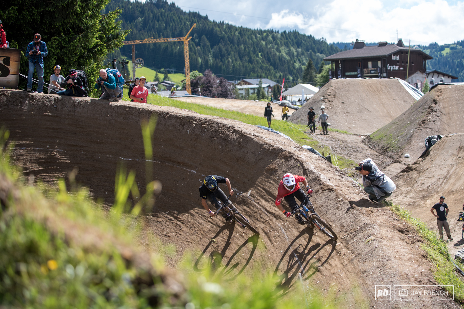 Shark Attack Dual Speed amp Style Finals - Crankworx Les Gets 2016