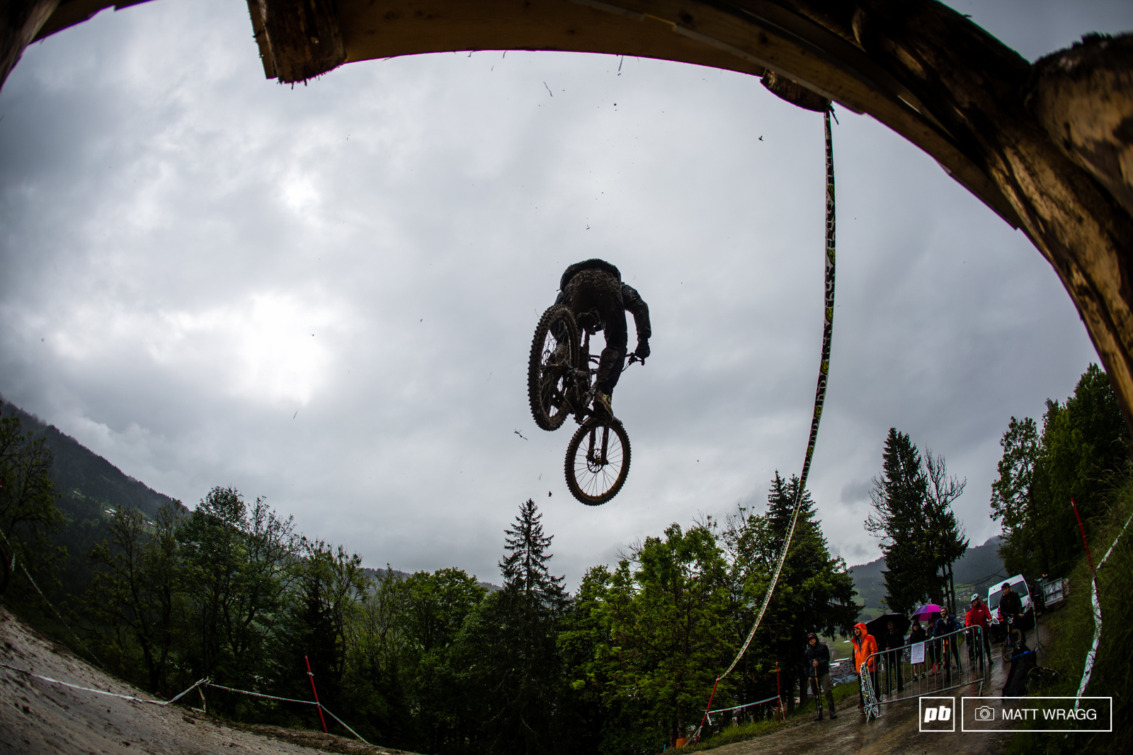 Fabien Barel at Crankworx Les Gets France. Photo by Matt Wragg.