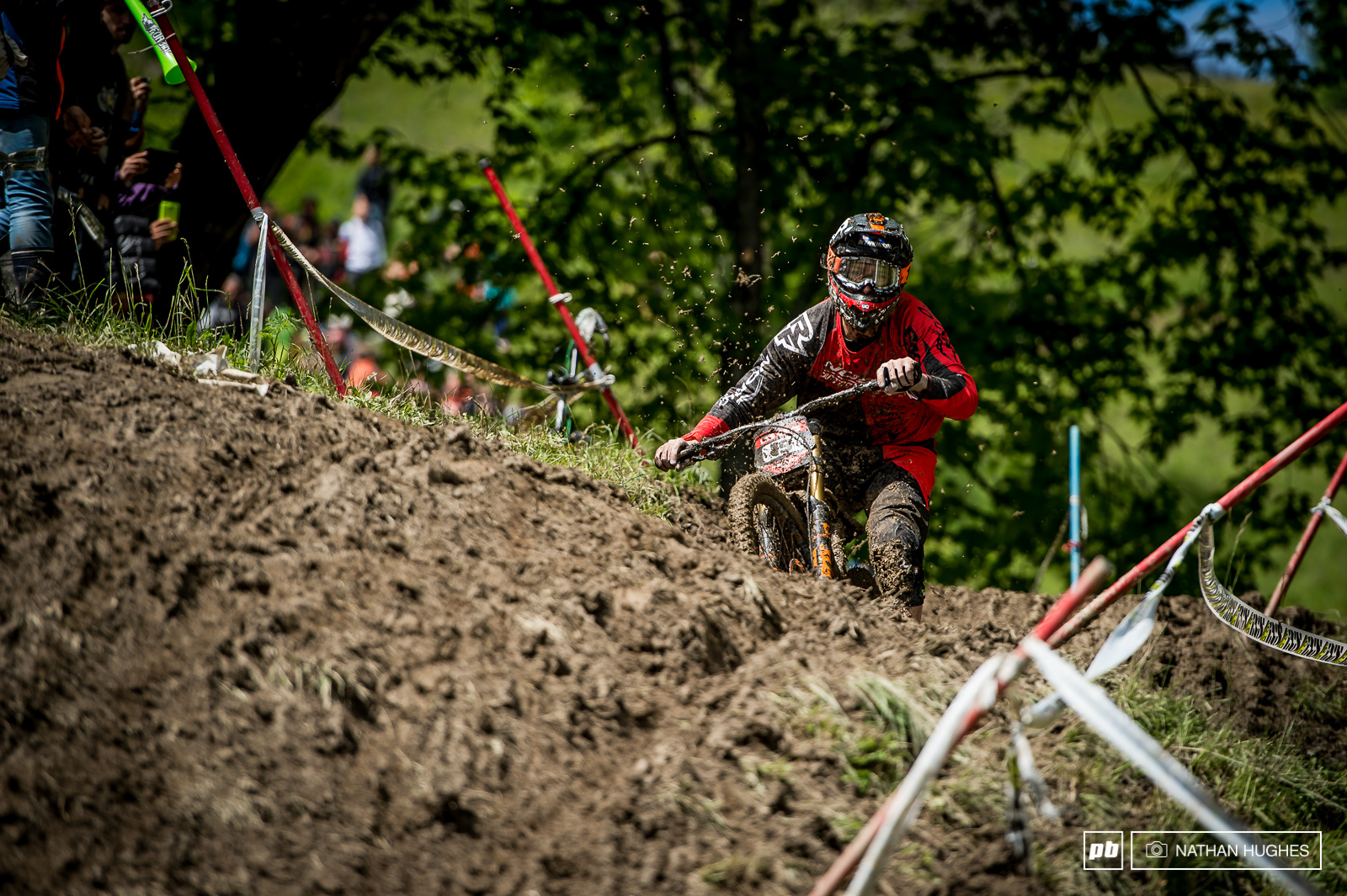 Blenkinsop looked on top of the gnarly conditions but couldn t manage to crack the top ten today.