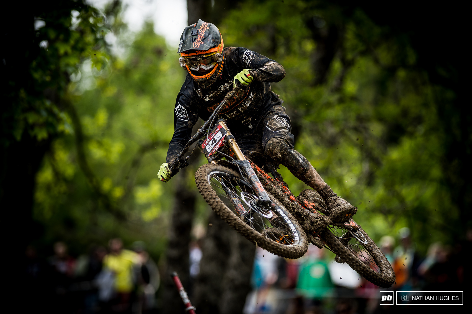 Thomas Estaque had the weekend of his days riding to fifth place.
