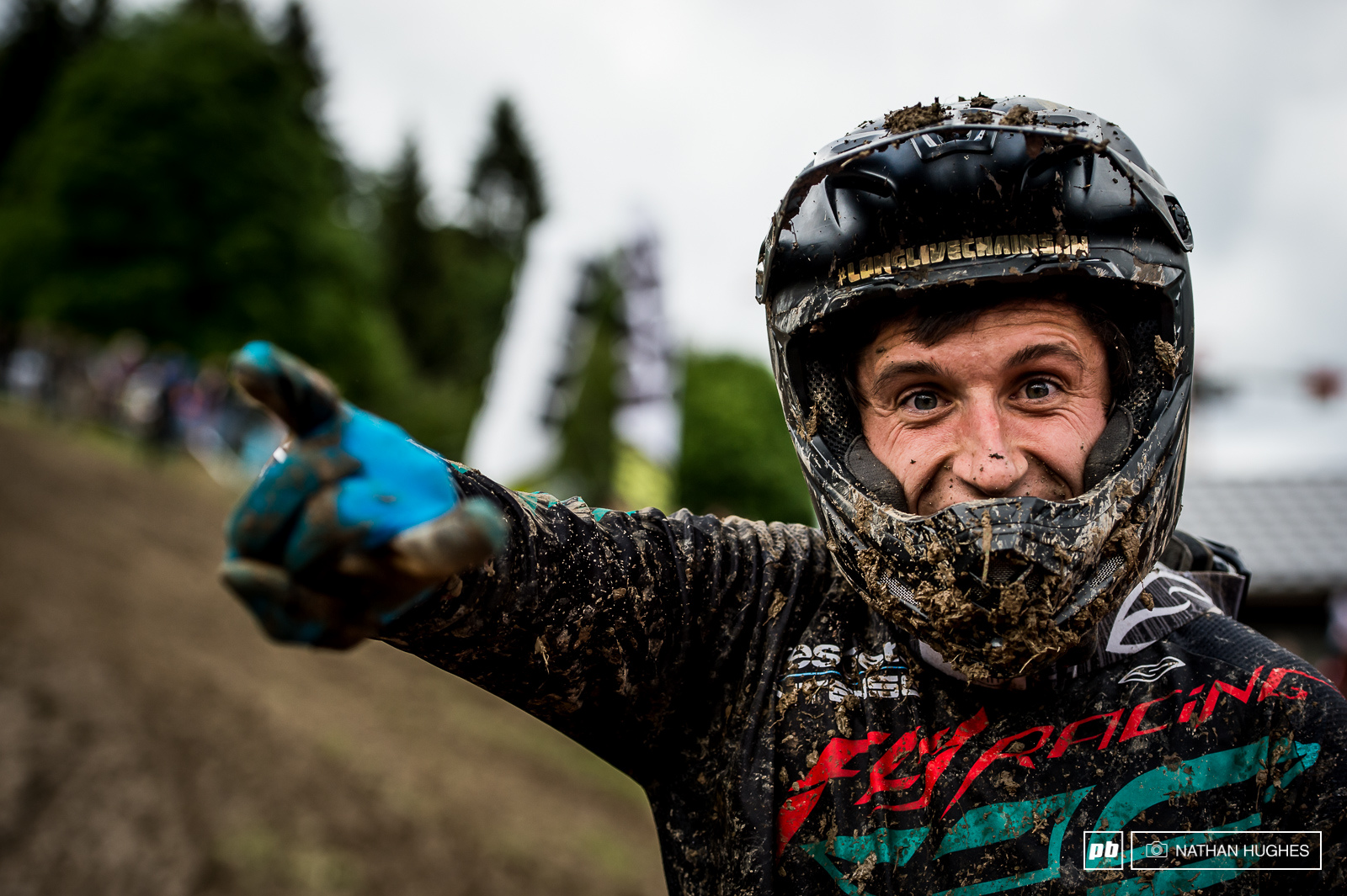 Romain Paulhan still stoked although he couldn t back up his incredible qualie after a crash.