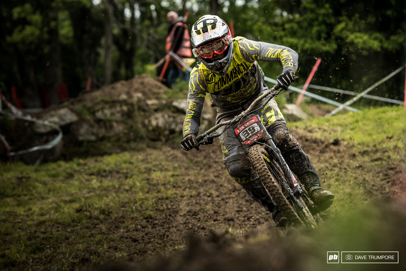 Remi Thirion is a master of technical tracks and mud.