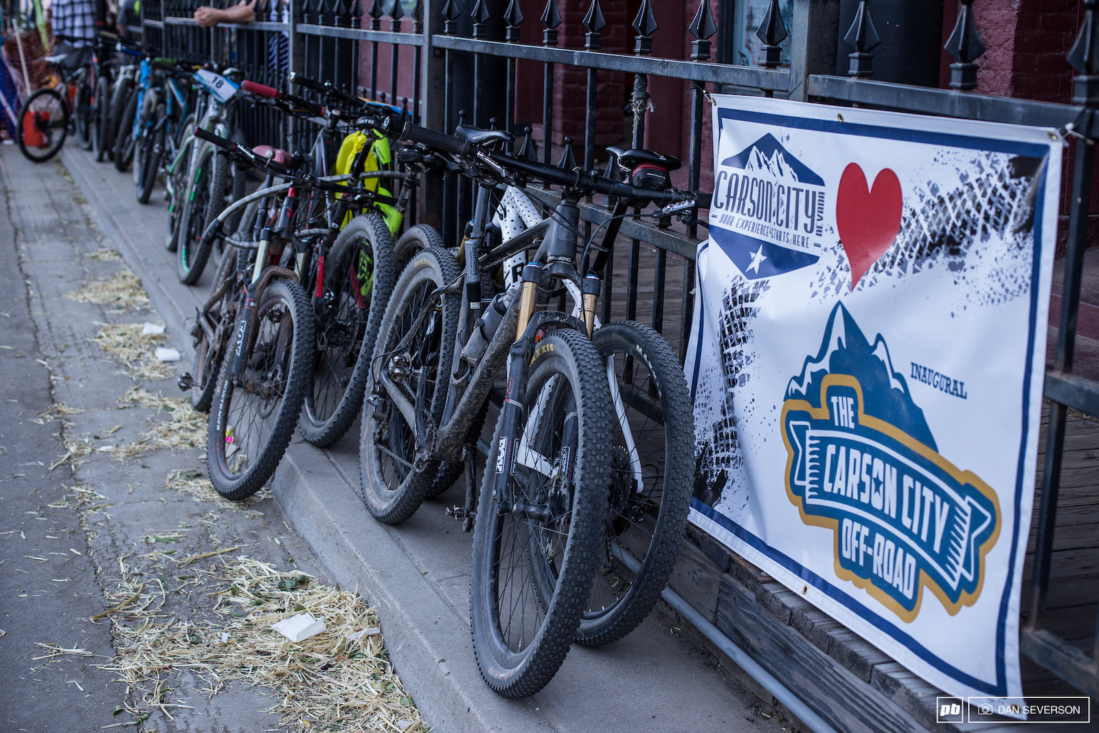 Yeah there were a few bikes in town over the weekend. Oh and did we mention the entire city was approved for open-container . Good times were had.