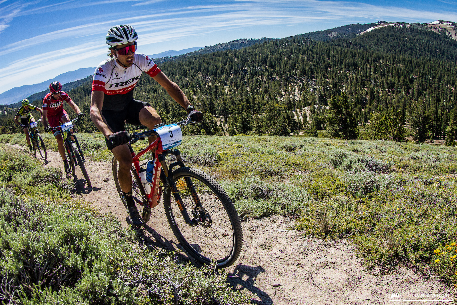Nic Beechan is no stranger to high altitude and steep climbs.