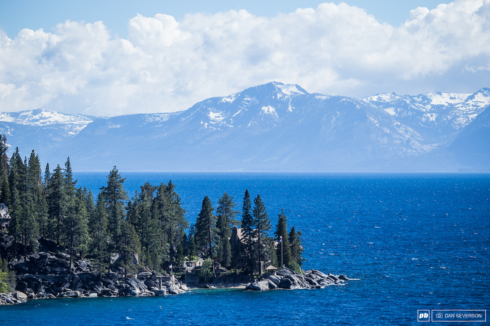 Hours of climbing were rewarded with stunning views of the Lake Tahoe area.