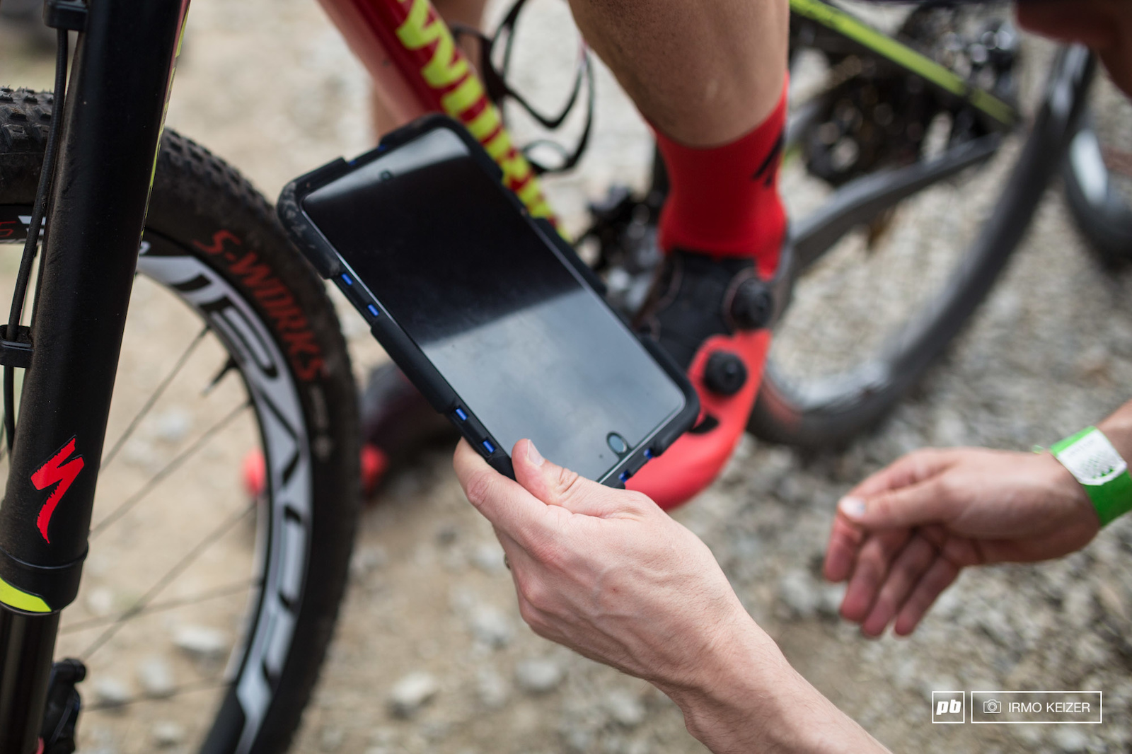 The UCI anti e-dope tablet. Made in the batcave.
