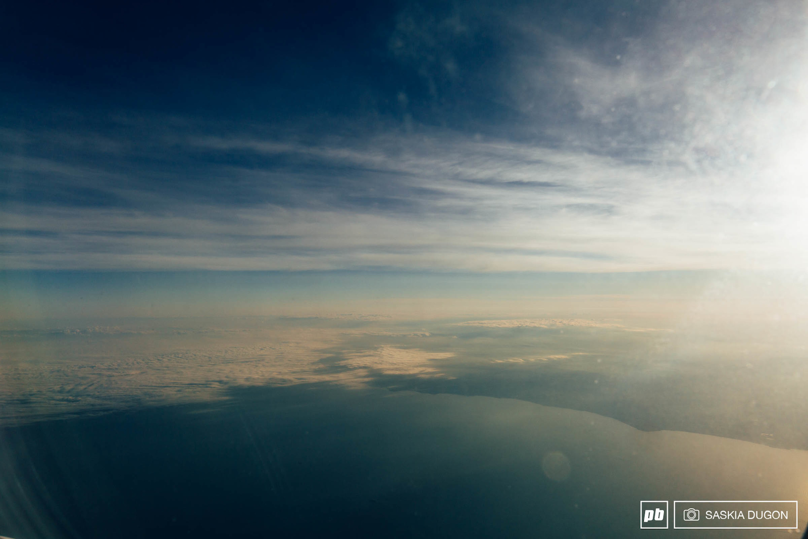 A peak out of the plane window showed the gorgeous coastline of southern Ireland.