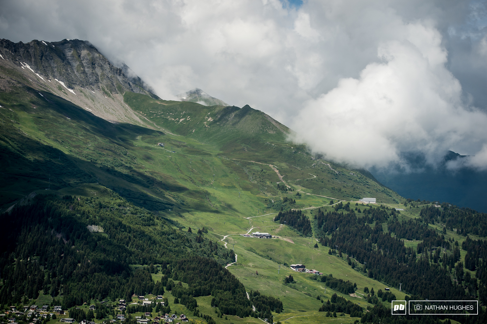 No such thing as bad view here in Graubuenden.