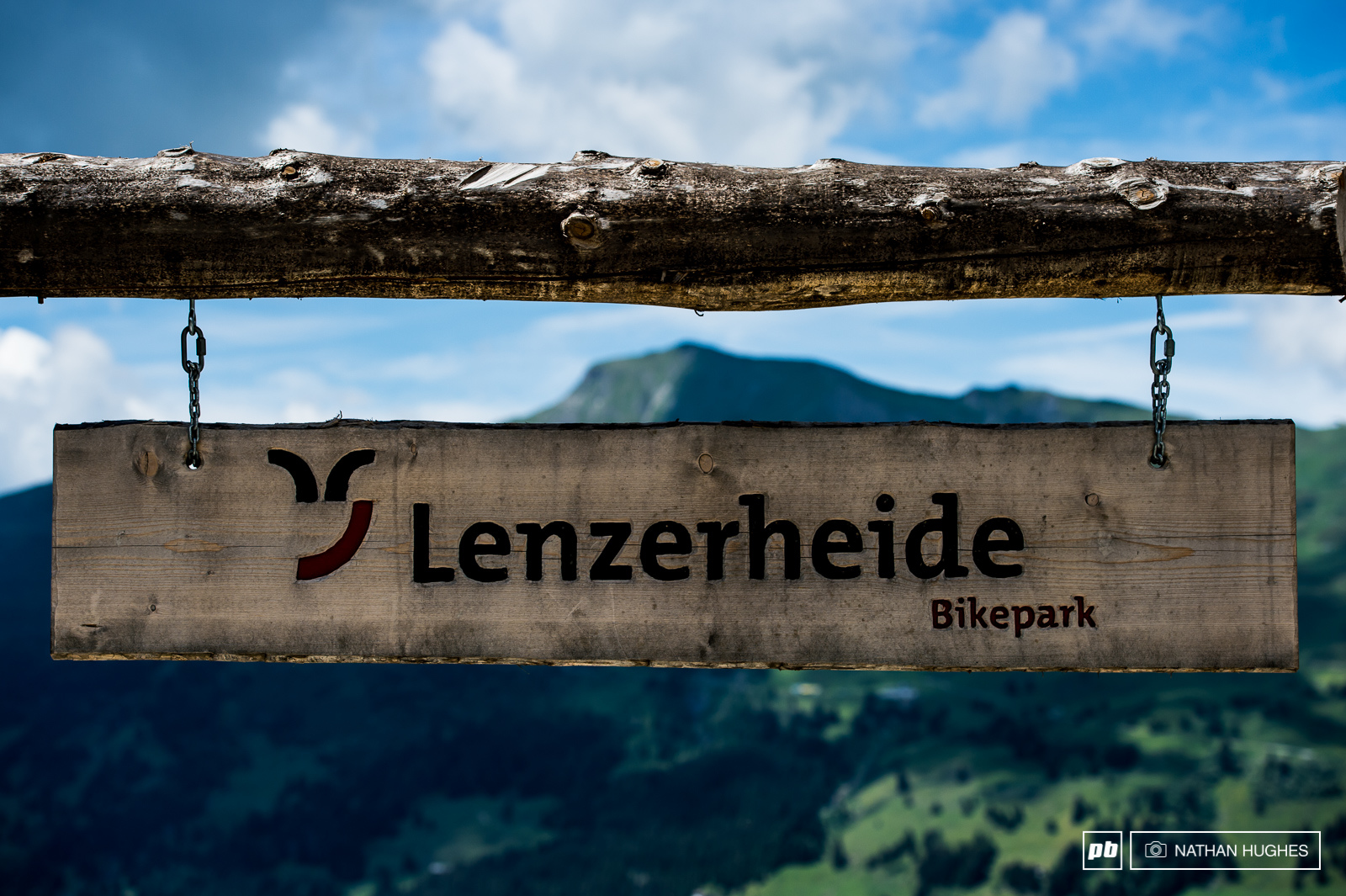 Welcome to Lenzerheide where things go downhill fast.