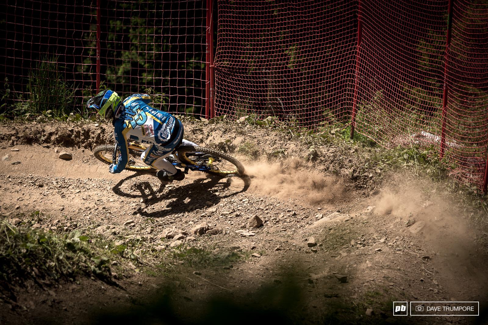 Sam Hill isn t afraid of a little loose dust.