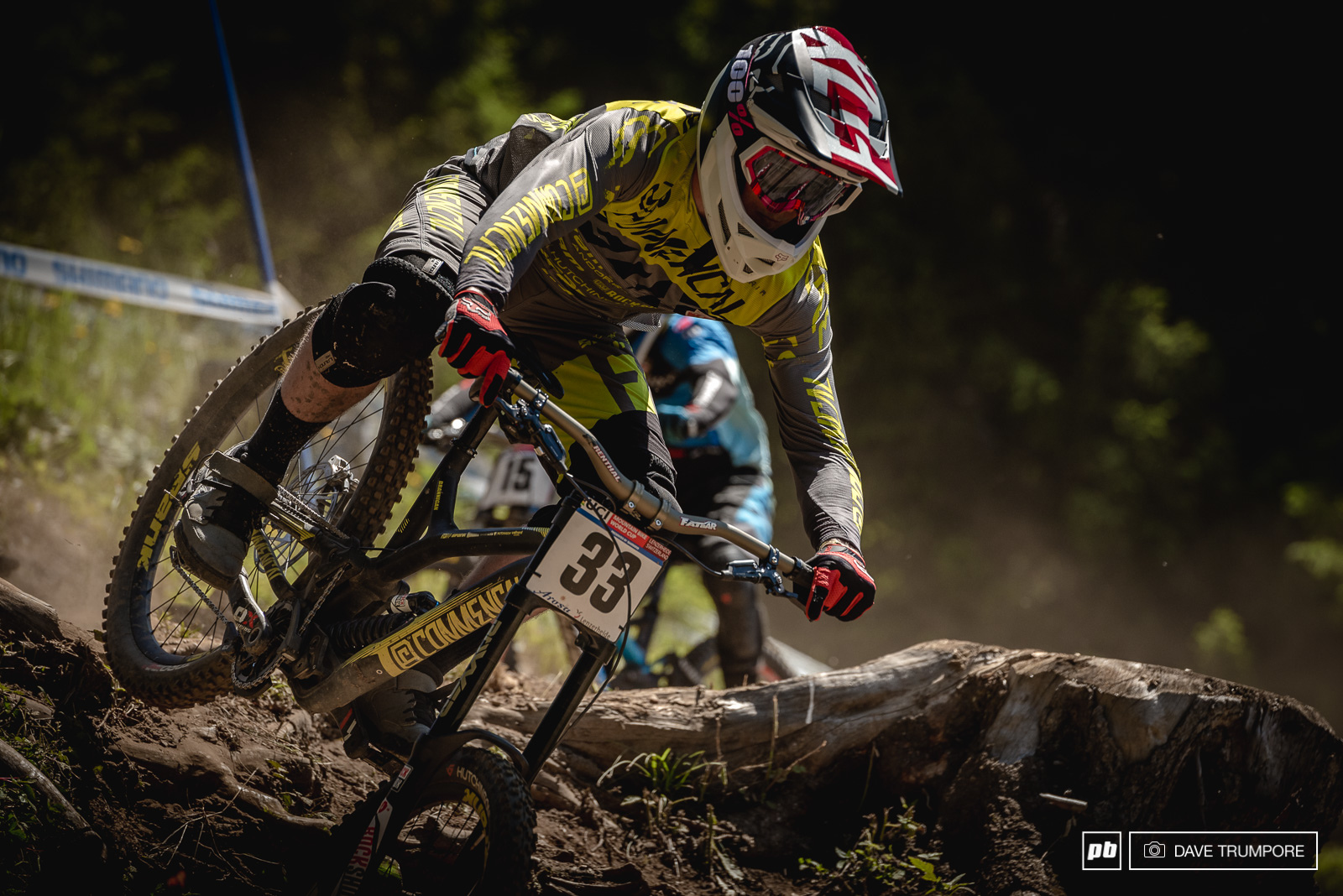 George Brannigan is back to 100 after taking a few weeks to recover from the massive crash he took in Fort William.