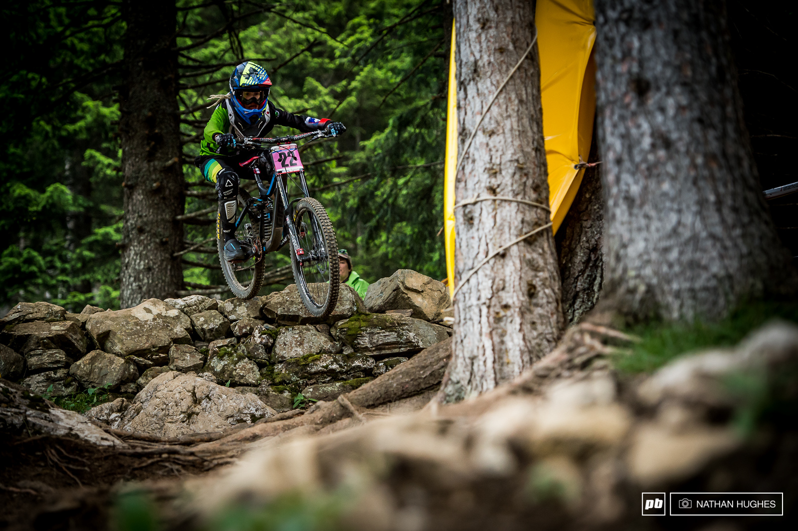 Slovenian privateer Monica Hrastnik had the ride of her life today to land in 6th position in the women s.
