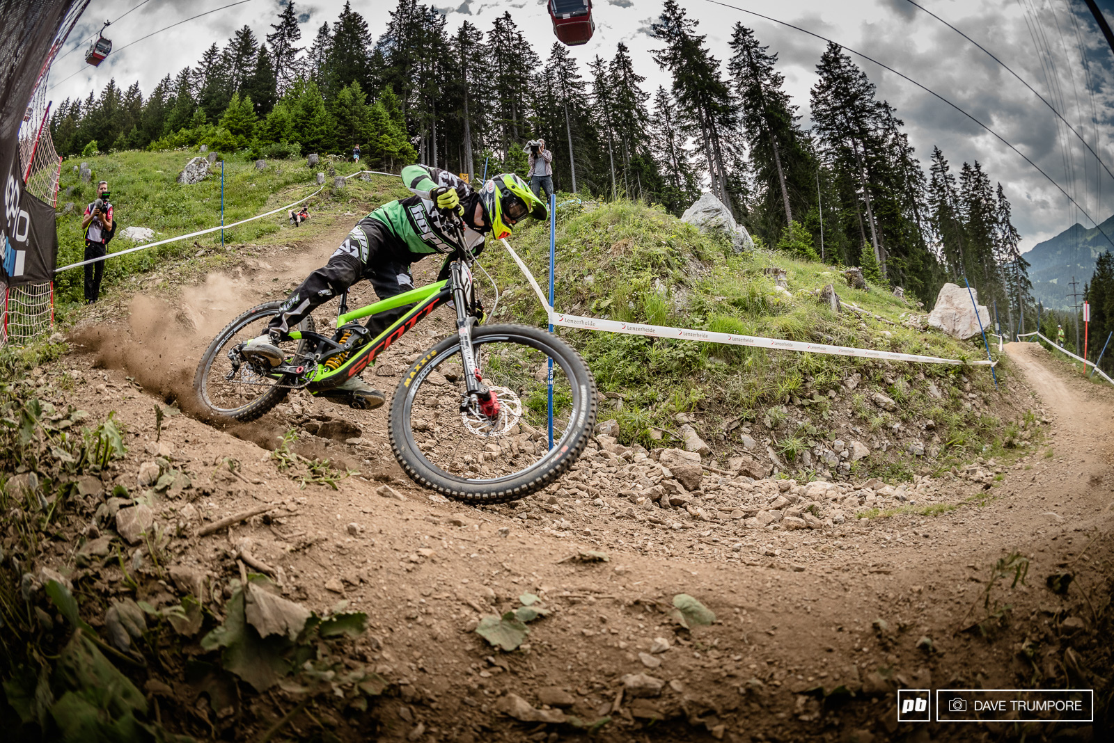 Backing up his podium on Fort William Adam Brayton needed the day in 7th.