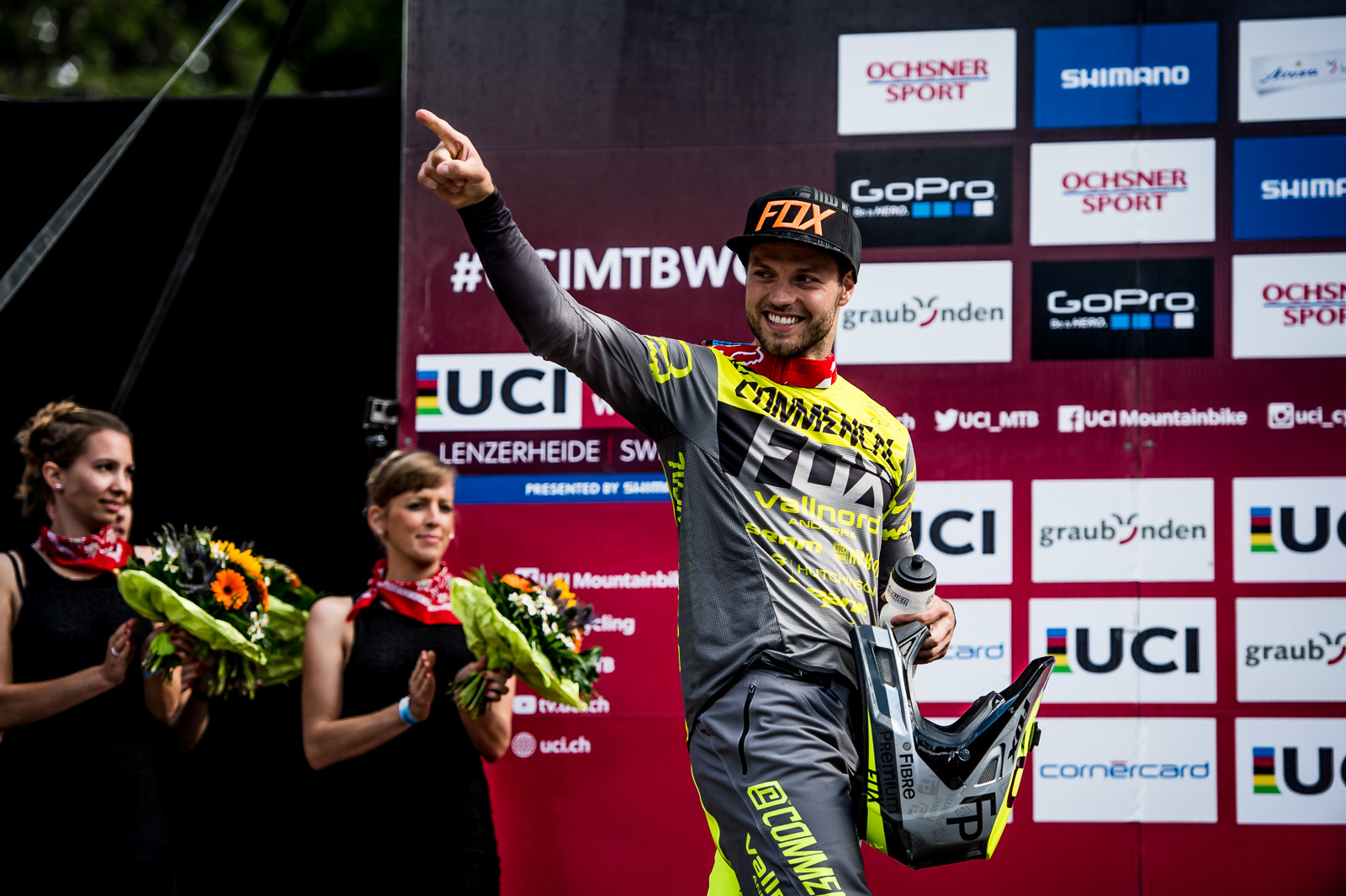 Remi Thirion stoked to send it to fourth place for his third career WC podium.