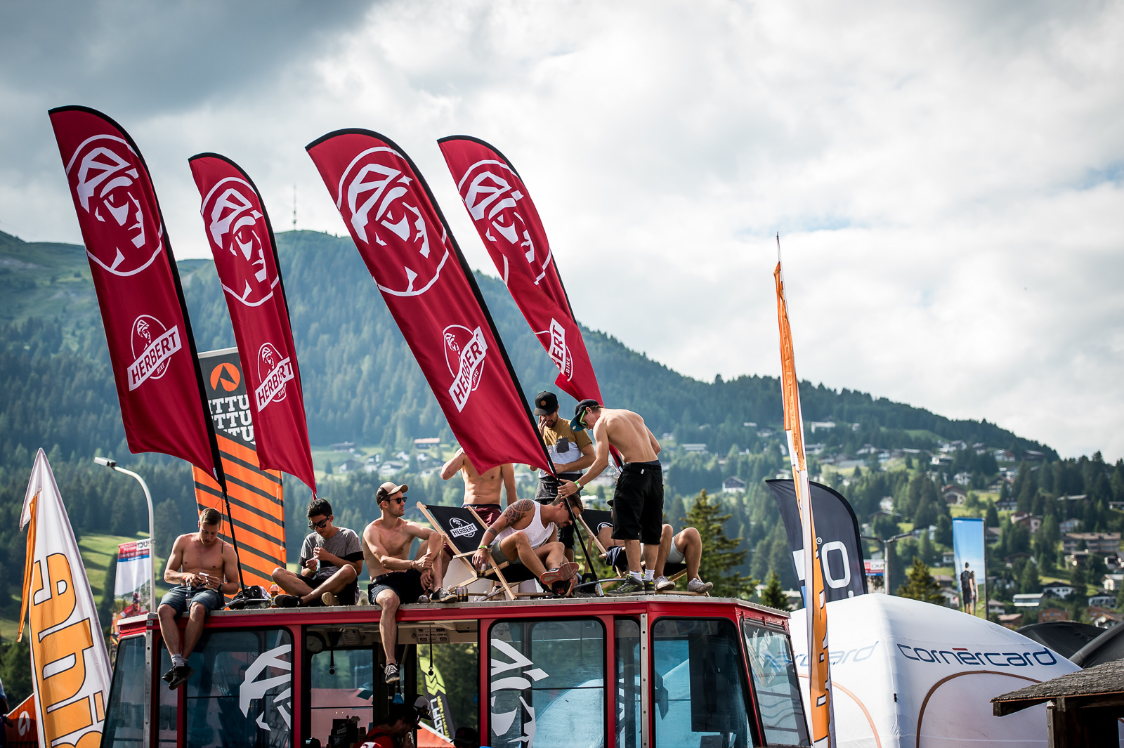 Summer holidays at the races in Lenzerheide...