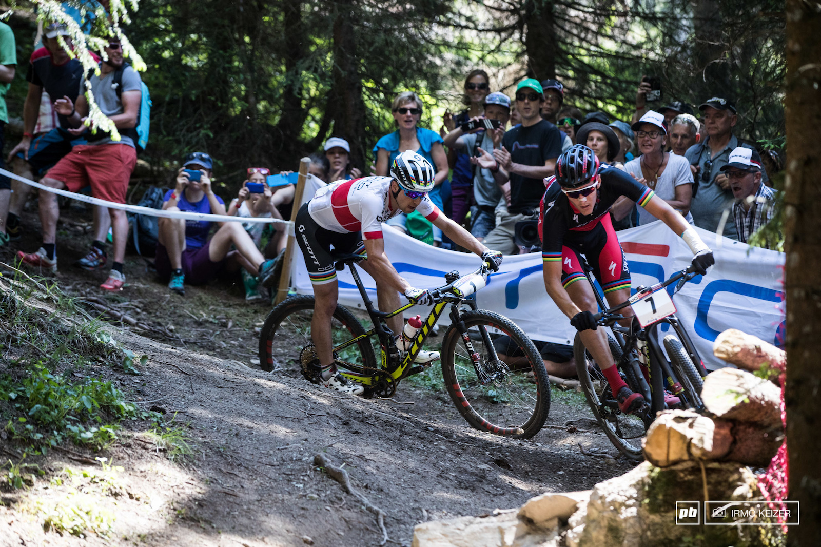 Jaroslav Kulhavy was out for revenge as Nino Schurter bested him before his home crowd a week earlier.