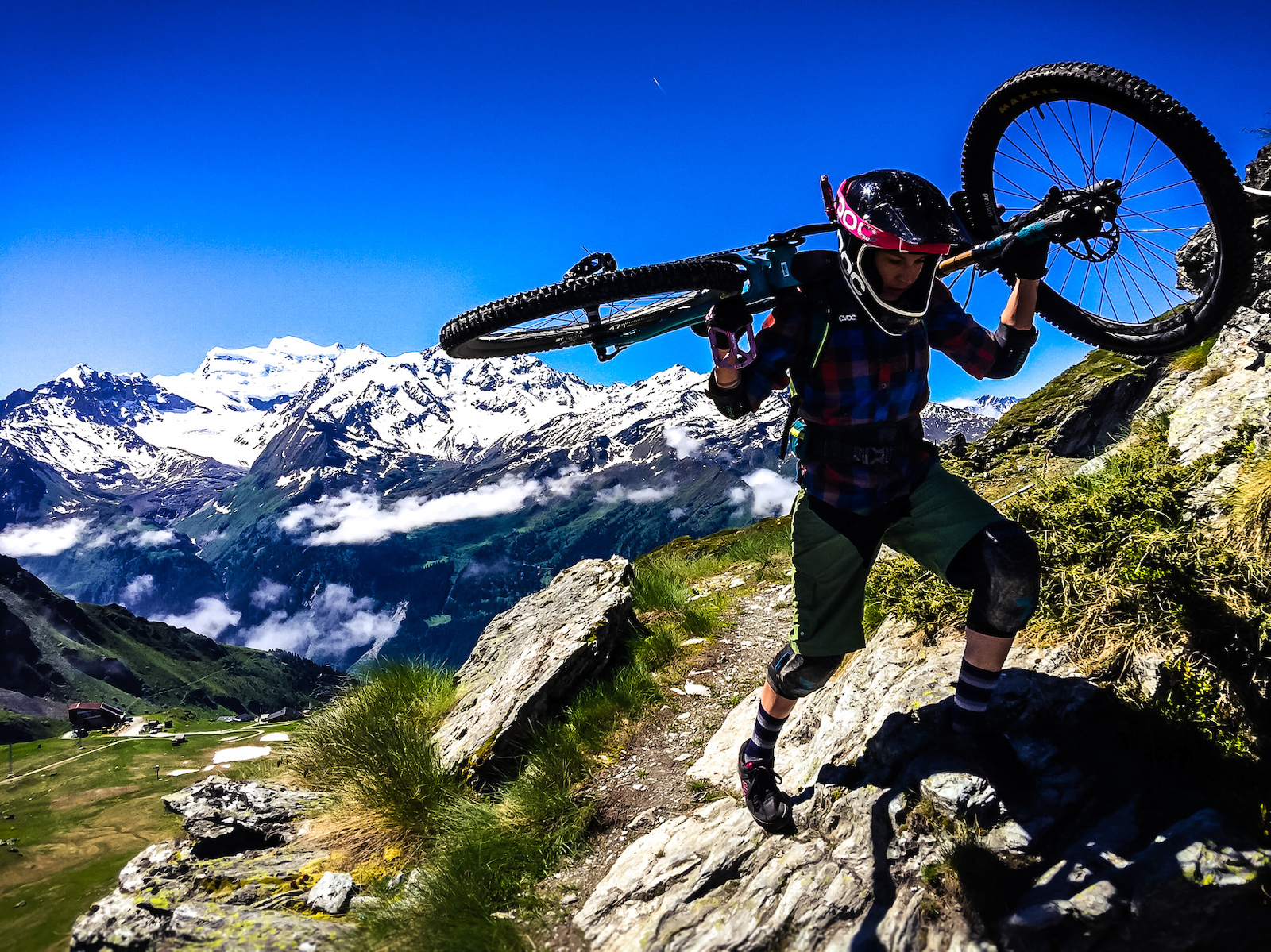 A weekend discovering the trails in and around Verbier Bikepark by