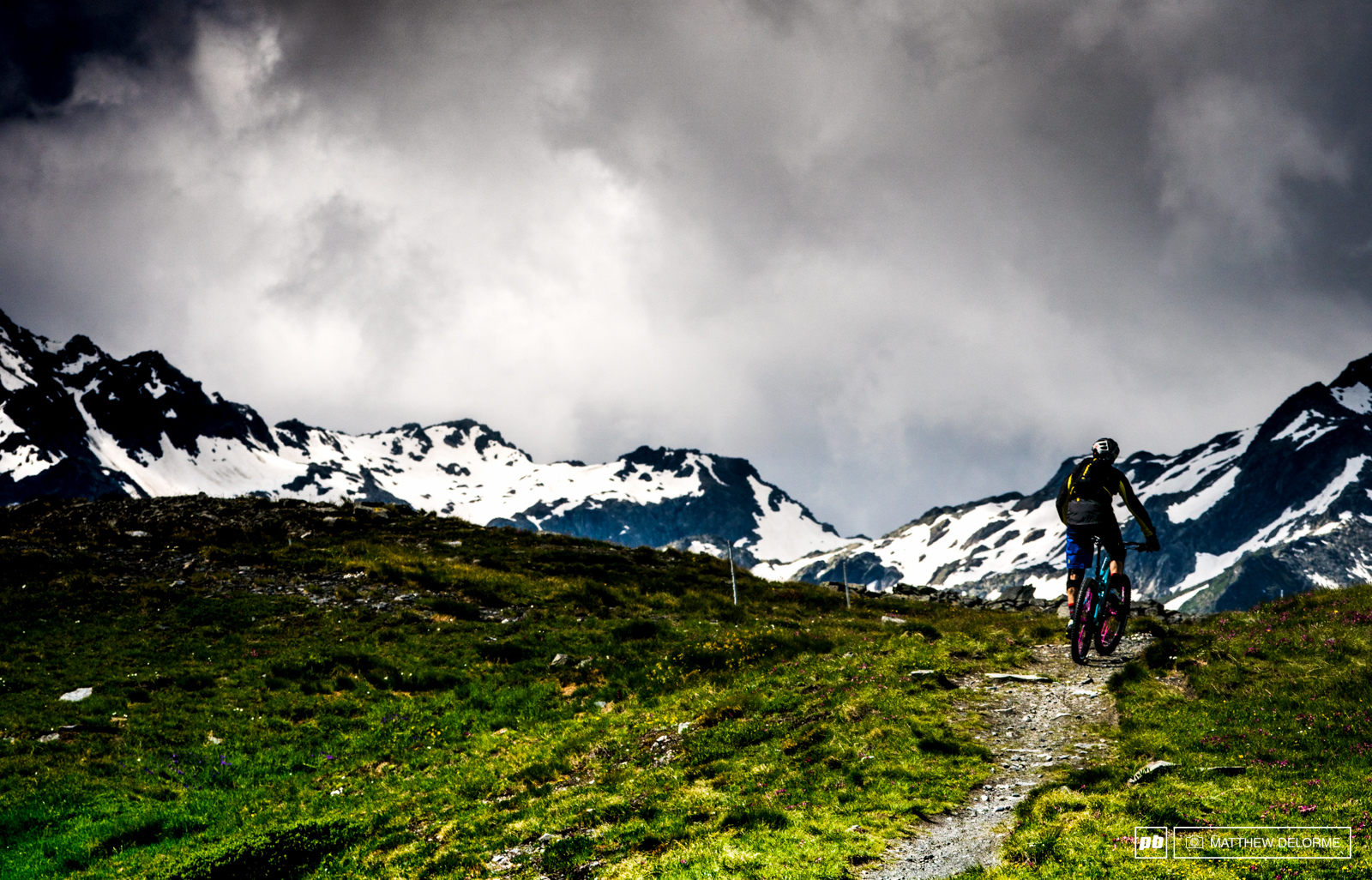 Hands down La Thuile is just a lovely place to ride bikes.