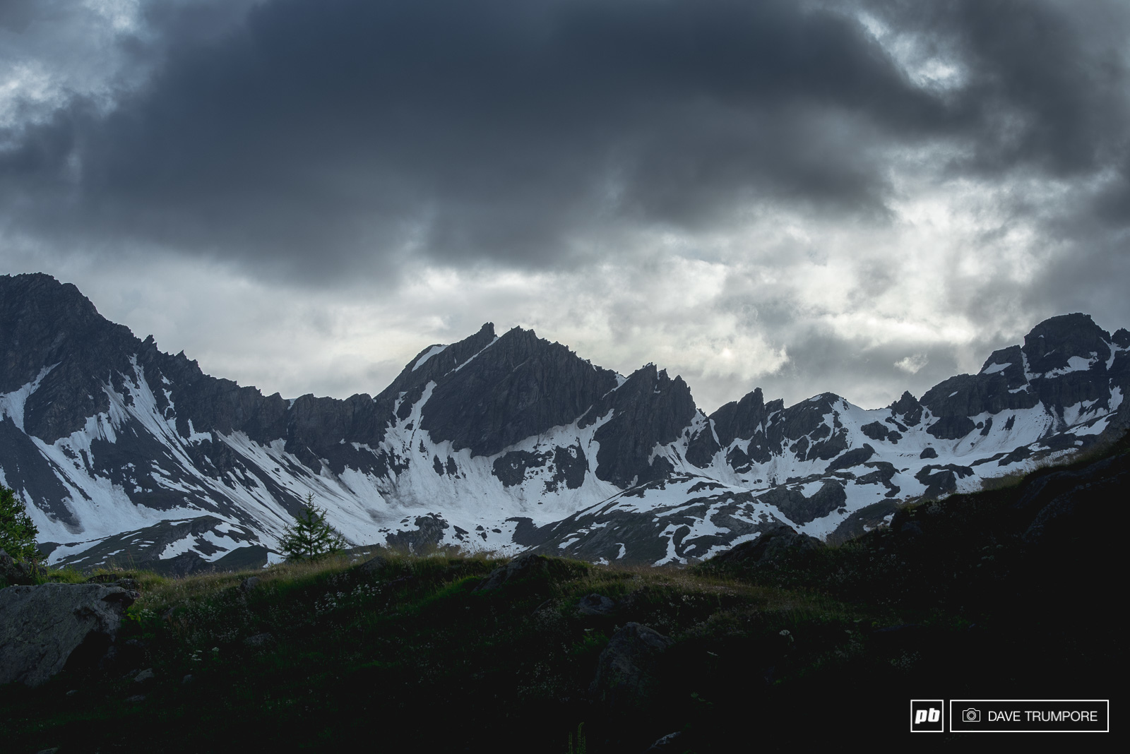 The hills just above the village of La Thuile are simply breathtaking.