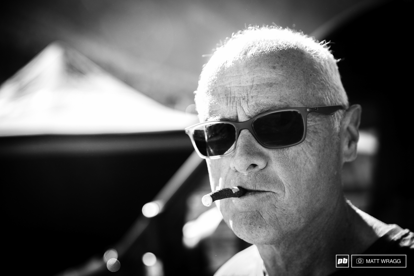 Cip is one of the mainstays of the Superenduro series organisation although he is softening these days and has replaced with his trademark cigar with a liquorice stick.