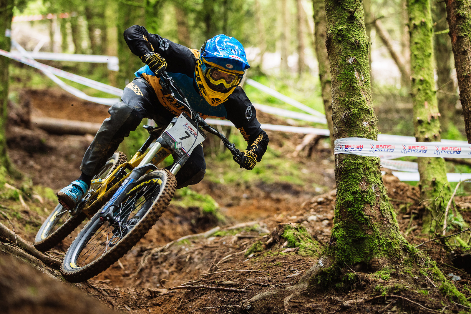 Phil Atwill is another rider who loves the loose nature of the surface. This is a real opportunity for Phil to show he has the raw speed to match his insane bike handling skills.