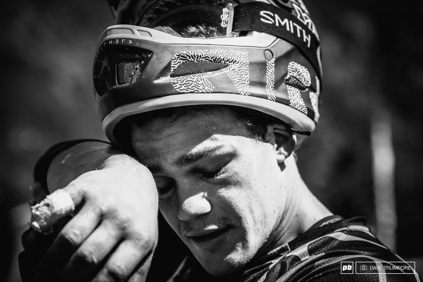 Even with a massive lead after day one Richie had no intentions of letting up. His goal has been to the first male to make a clean sweep of all stages on an EWS weekend but a charging Sam Hill on stage five foiled his plan by less than one second.