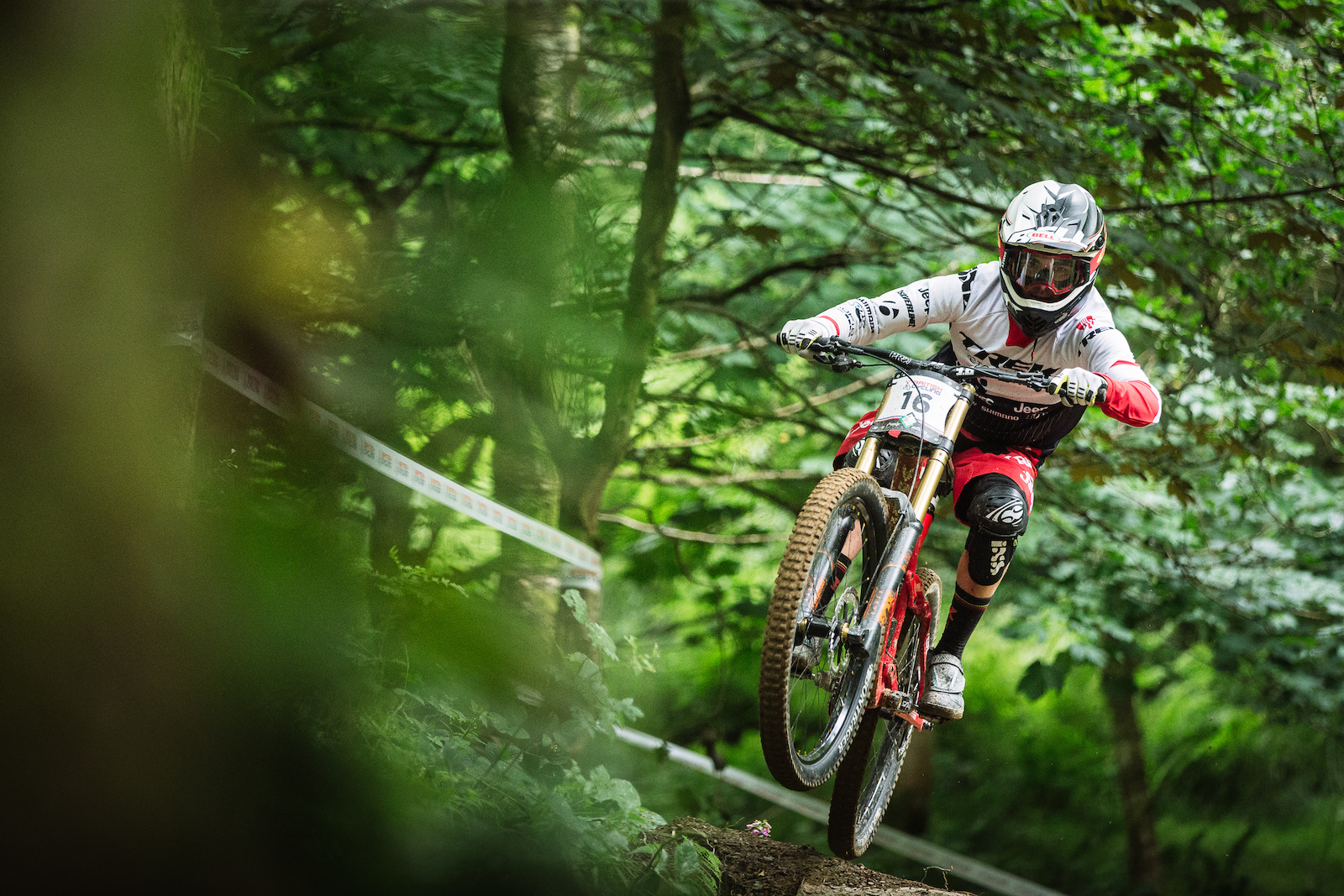 A notable change to the norm Taylor Vernon beat teammate Gee Atherton by one spot. Both were just 3 seconds off the pace but placed 8th and 9th showing just how tight times were at the top of the mens category.