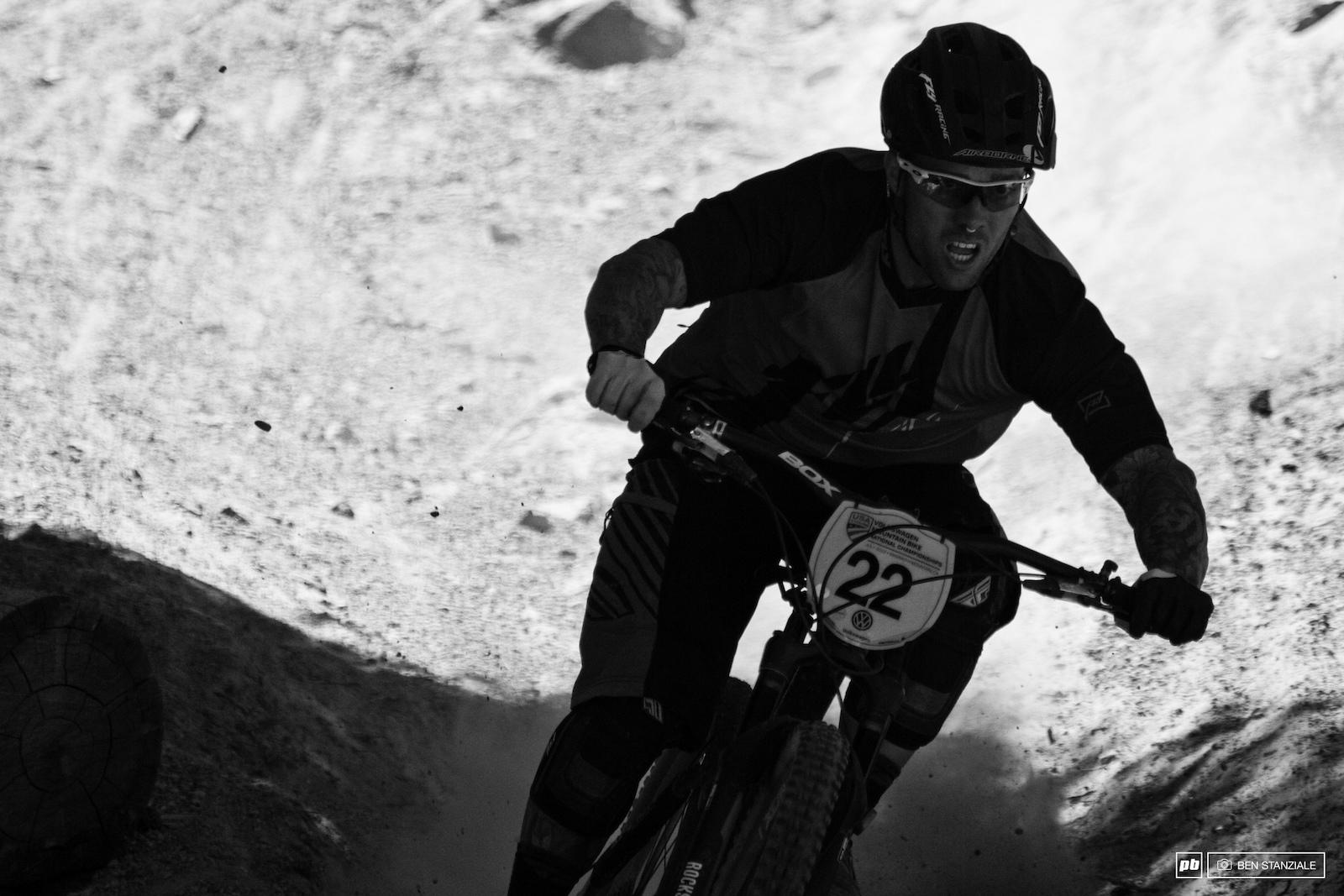 BMX racer Barry Nobles on track for Sunday s Enduro.