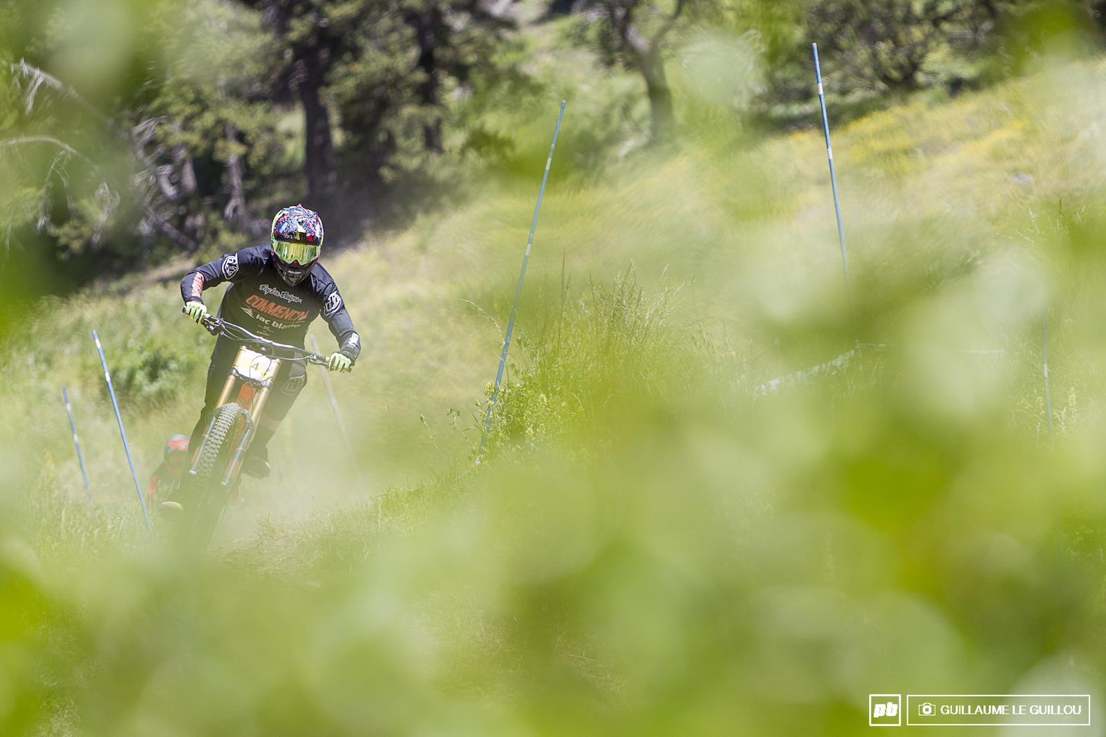 French Downhill championship 2016 Montgen vre