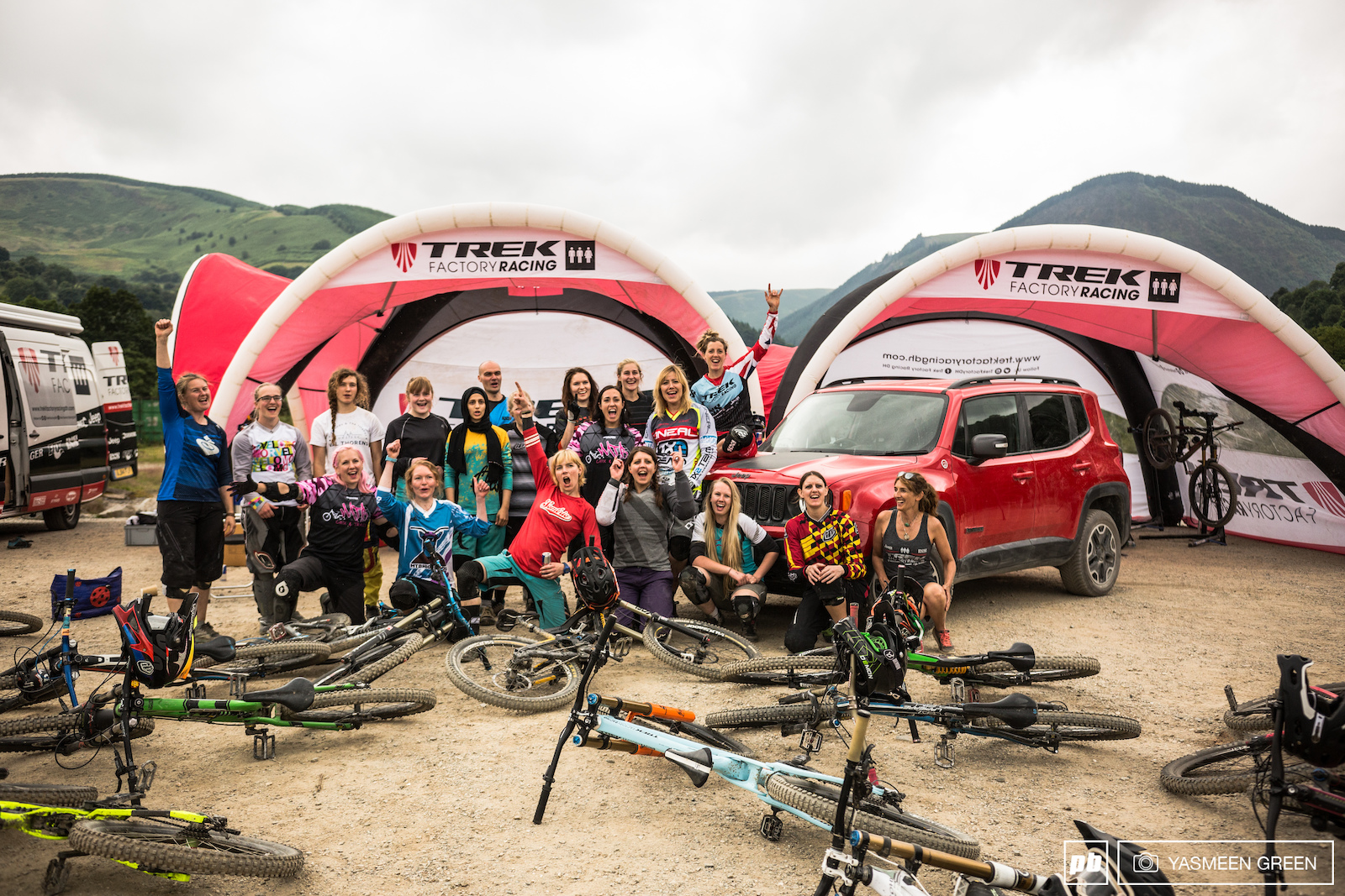 Rachel Atherton Ride Clinic