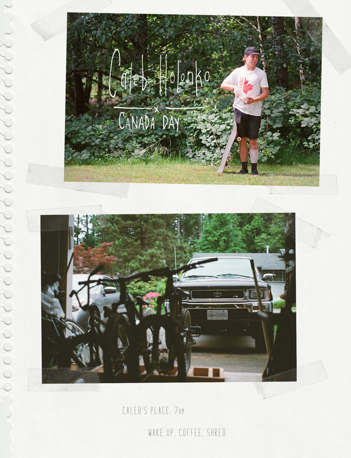 Images for Canada Day with Caleb Holonko article.