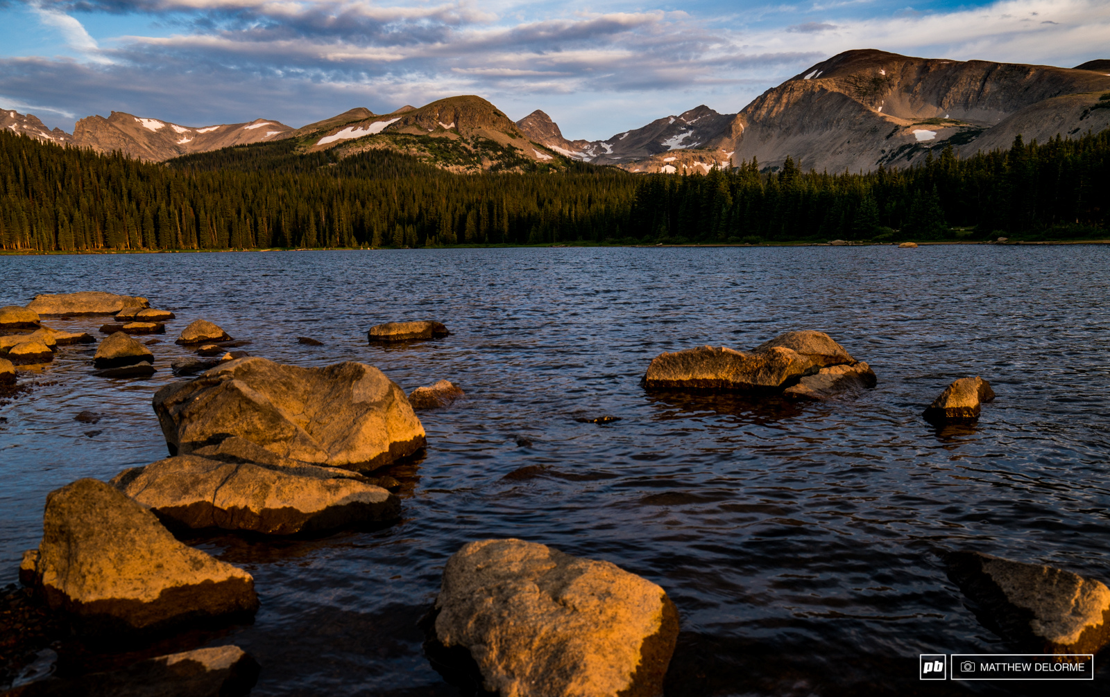 Brainard lake the gateway to the Indian peaks wilderness sits at over 10 000 feet.
