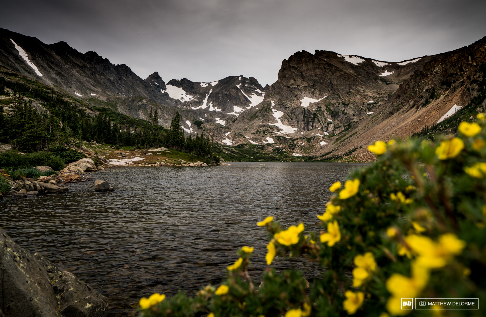 We stopped along the way from Denver to get some views in the Indian Peaks Wilderness.