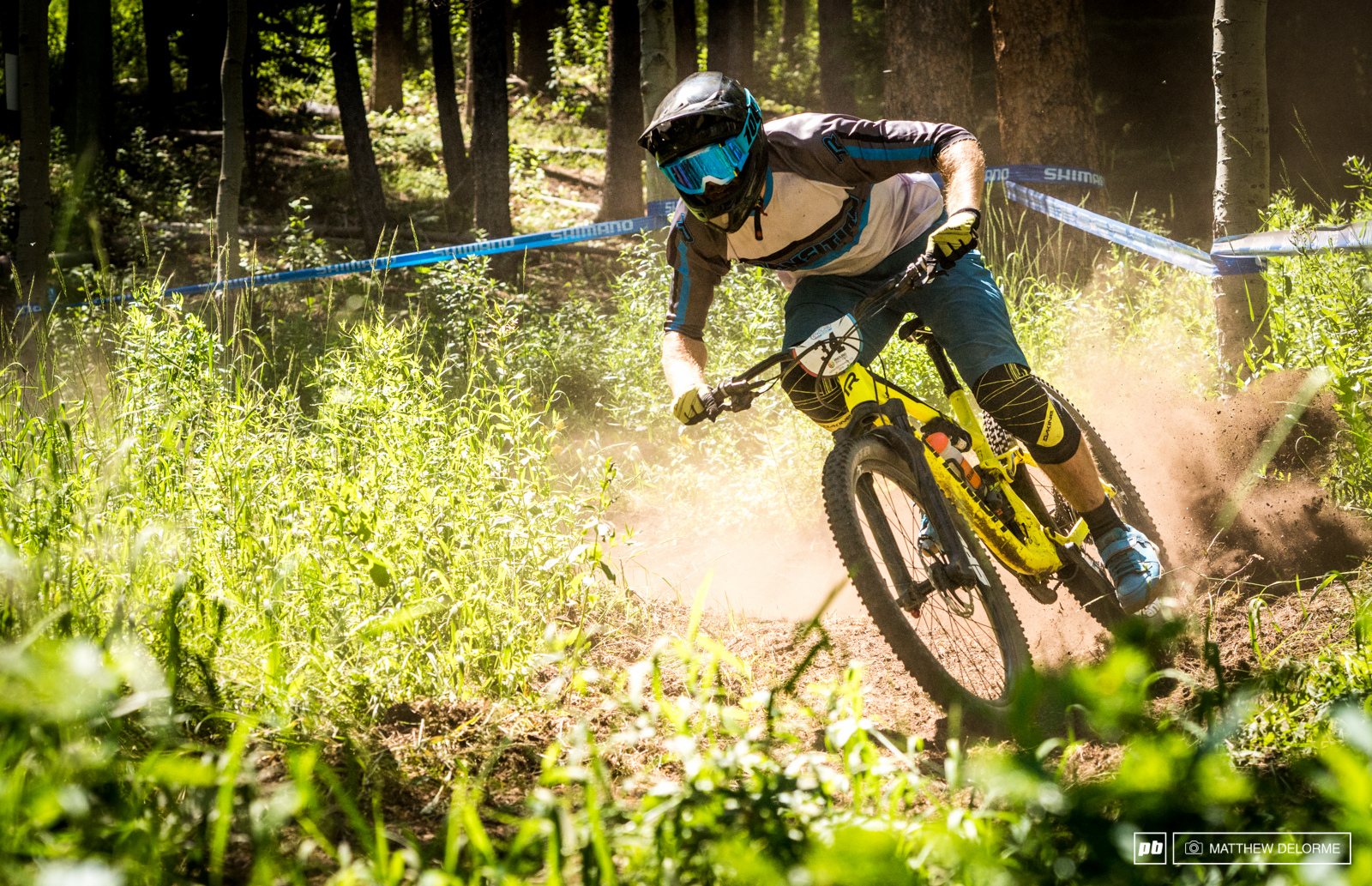 There are plenty of dusty loose corners here in Aspen to slide around.