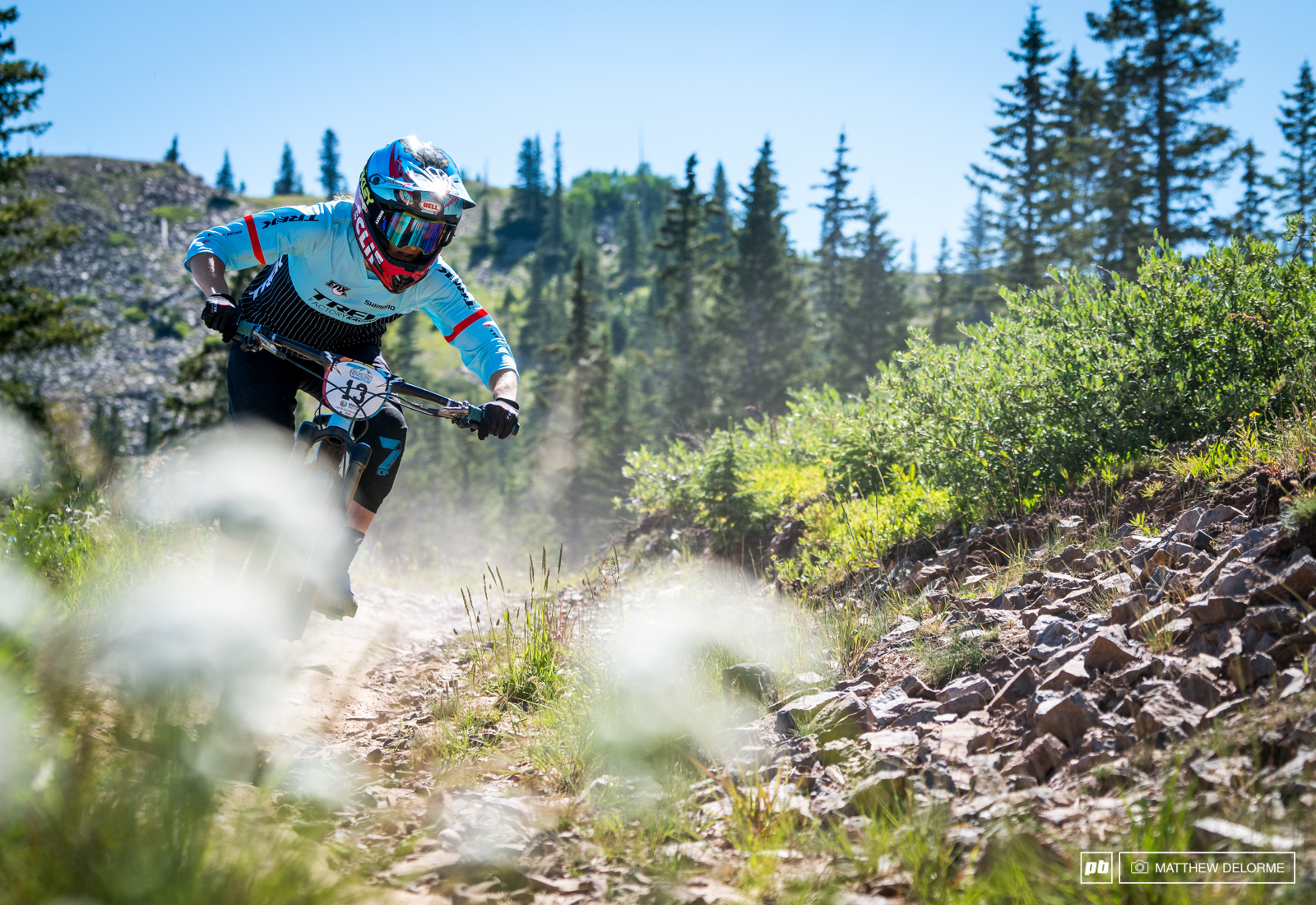 Casey Brown is back at the EWS and looking to have a repeat of her Argentina result.