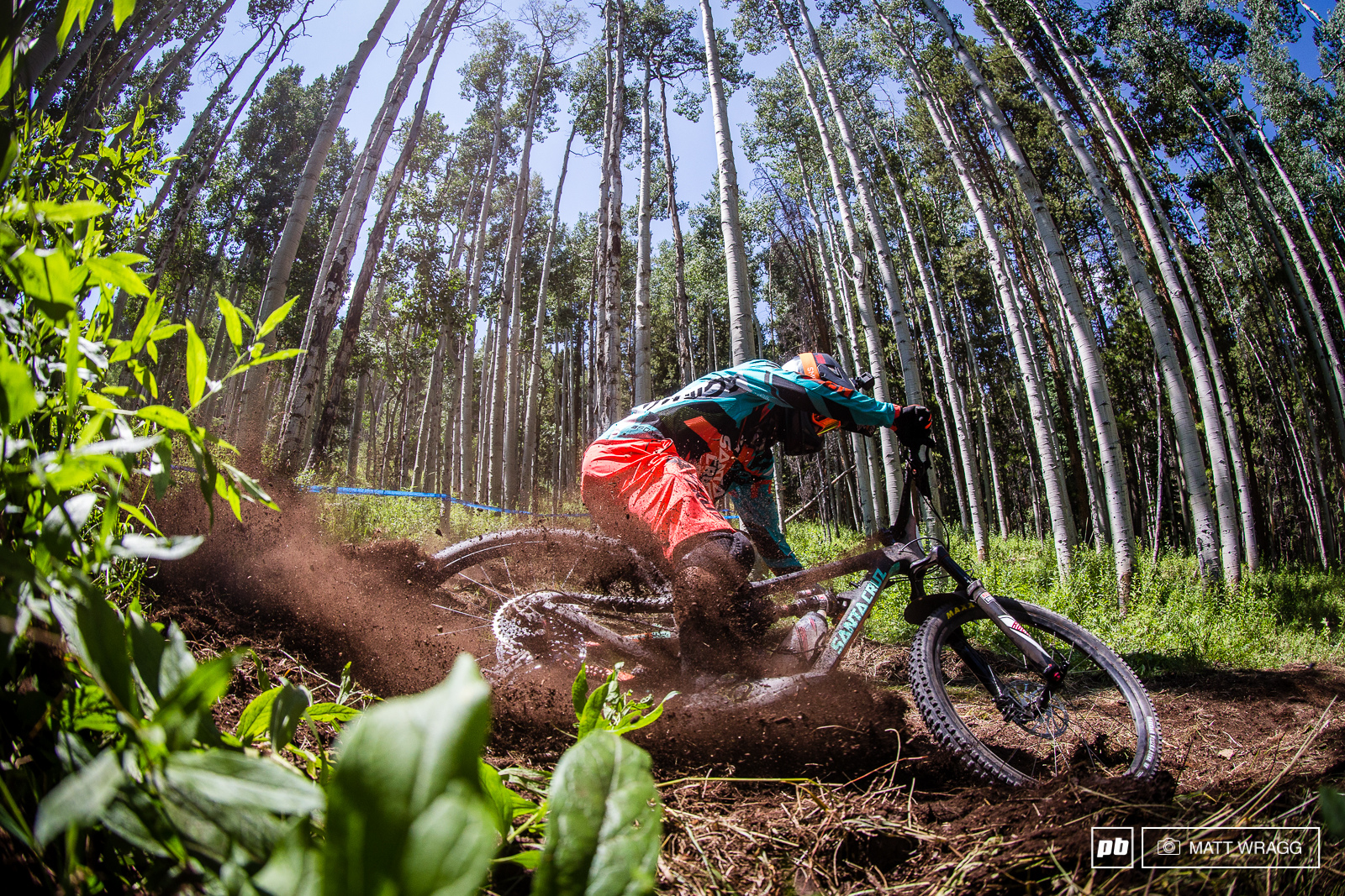 Where there is fresh soft dirt on course Iago Garay knows how to make the most of it...