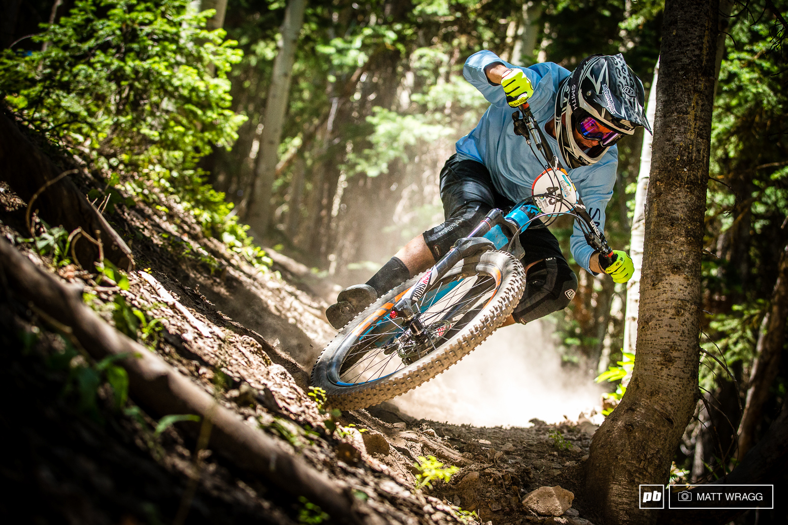 Alex Krunkshox McGuinness has been privateering to all of the rounds of the EWS this year.