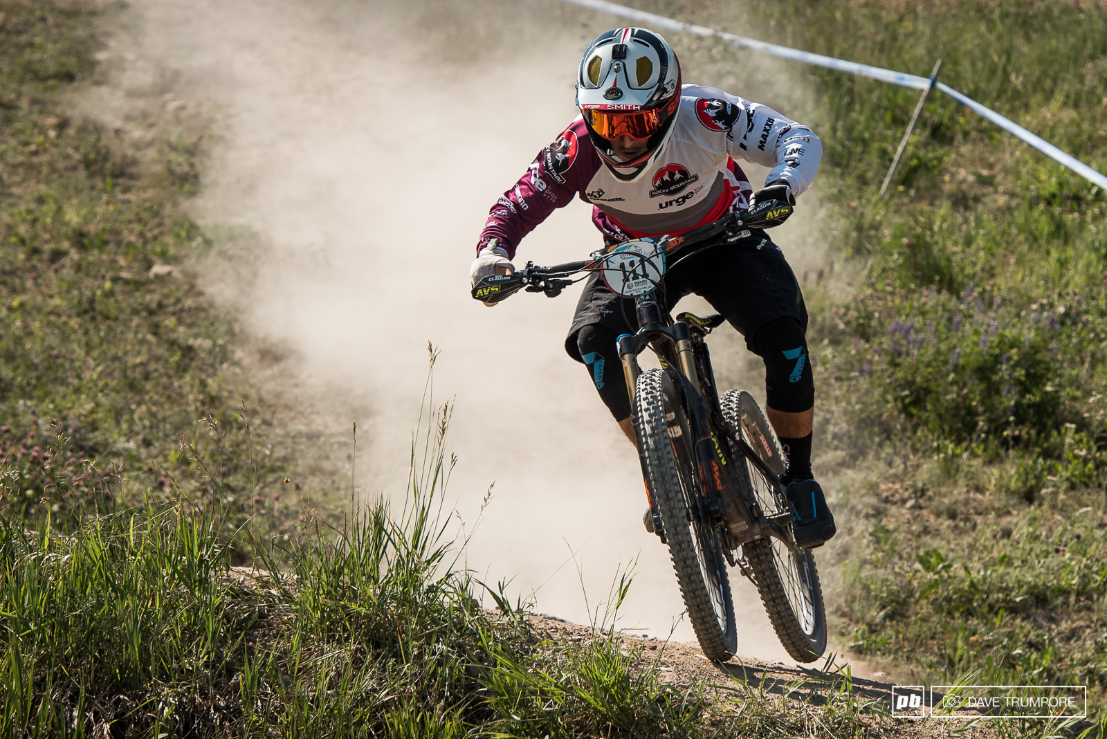 Seb Claquin pushed hard despite his injured hand for second in under-21 and for reference he still pulled a time good enough to match World Cup DH standout Sam Blenkinsop.