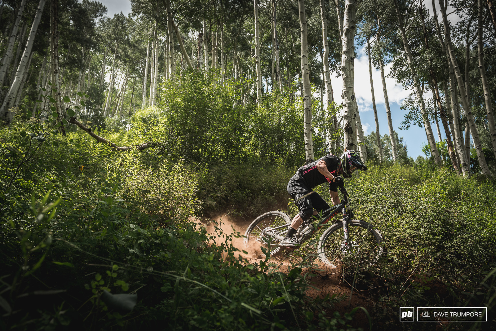 Jared admits tight switchbacks are his nemesis but he made quick work of the through The Dumps on stage 3 to solidify his lead going into day 2.