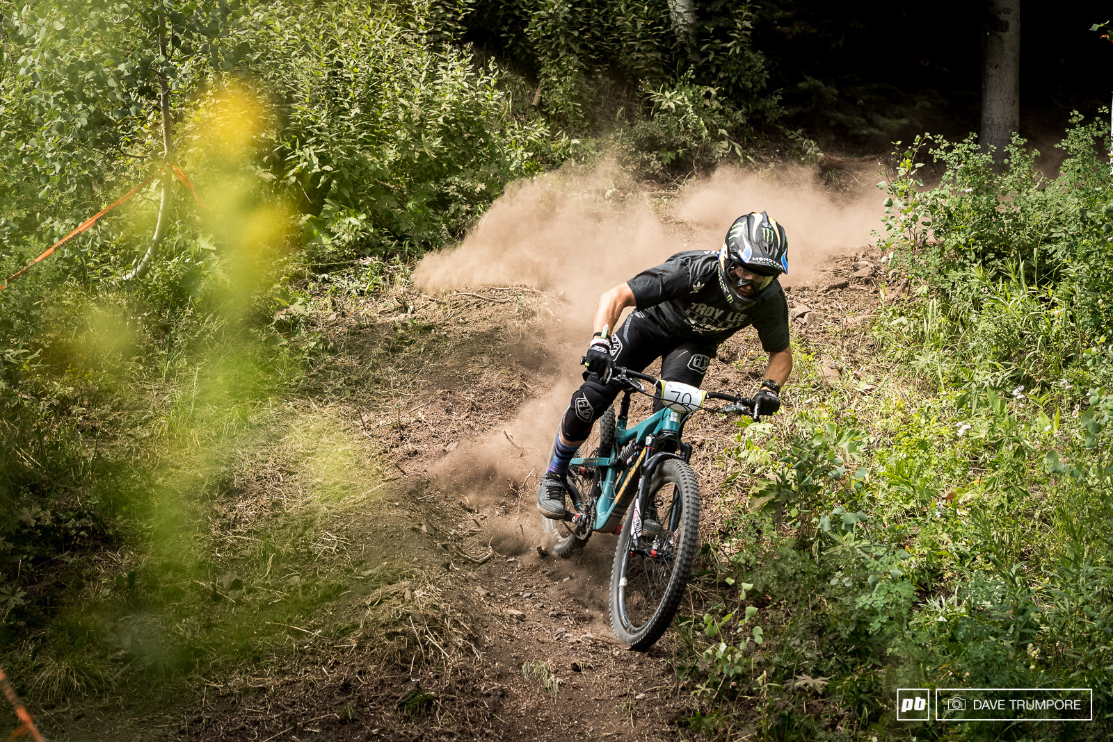 Utah resident Mitch Ropelato knows how to ride the loose Colorado dirt and has drifted his way right up into 17th.