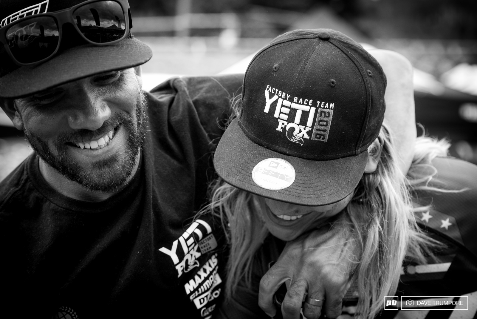 Yeti s team boss couldn t have been any more proud of his newest recruit this weekend.