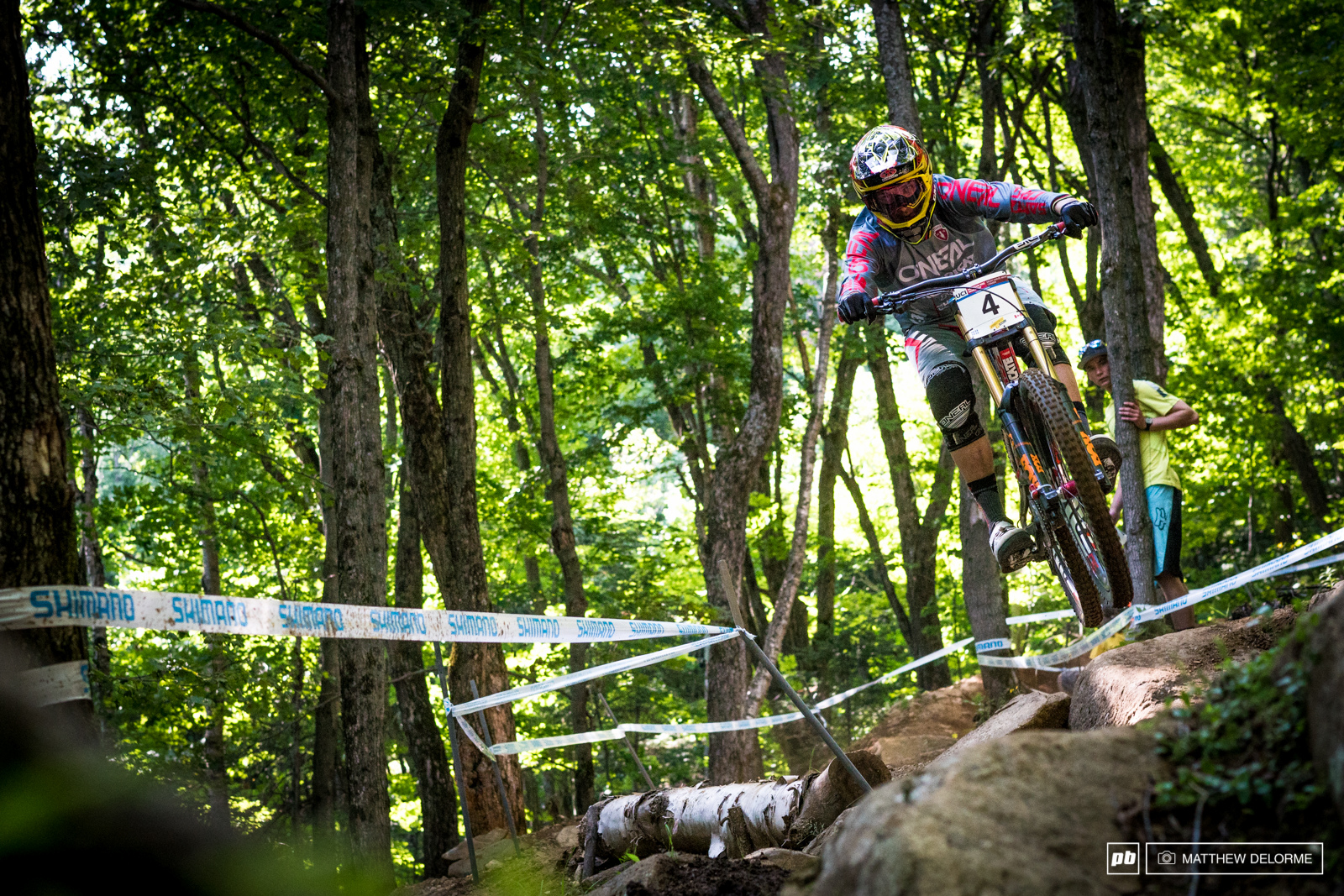 Greg Minnaar was eighth fastest in timed training but because it s Greg you could expect to see him on the podium come Saturday.