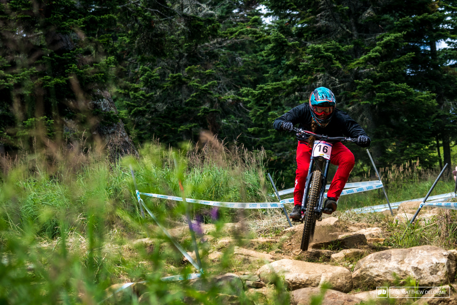 Miranda Millier was smashing it after a long week at altitude in Aspen. Miller qualified 5th.