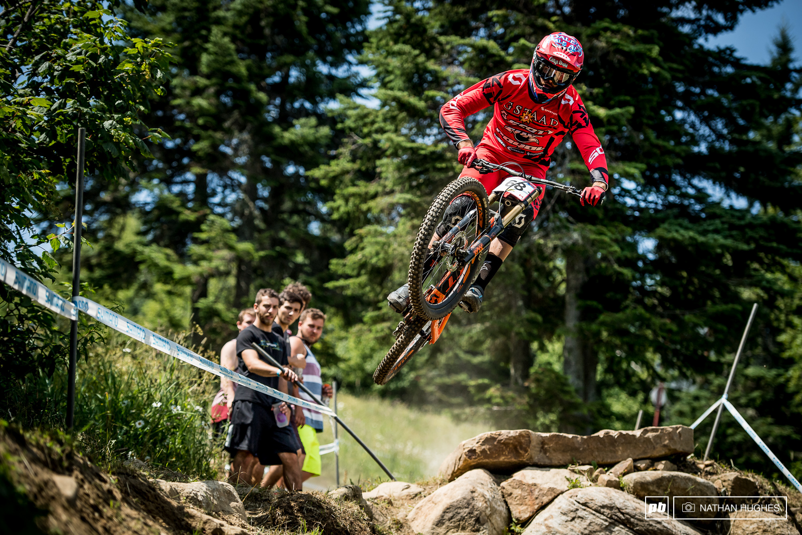 Today we welcomed Gstaad Scott s Neko Mullaly back to the gnar of the WC circuit.