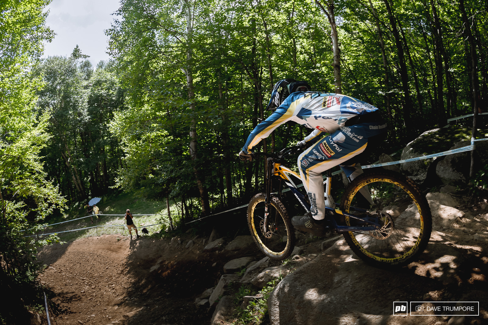 Sam Hill has is one of the winningest riders here at Mont St Anne most recently World Champs in 2010 and the WC in 2014.