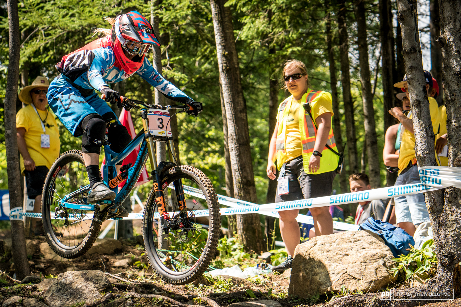 Mont-Sainte-Anne DH World Cup 2016