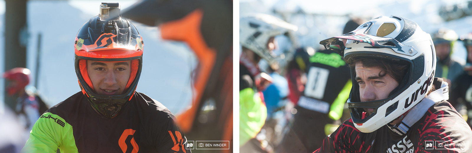 1st and 2nd after day 1 Elliot Trabac and Clement Benoit.