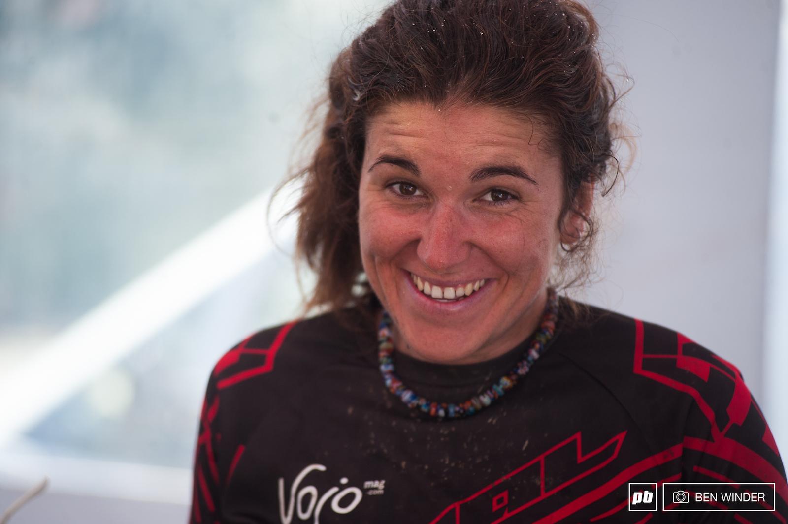 Morgane Jonnier winner.