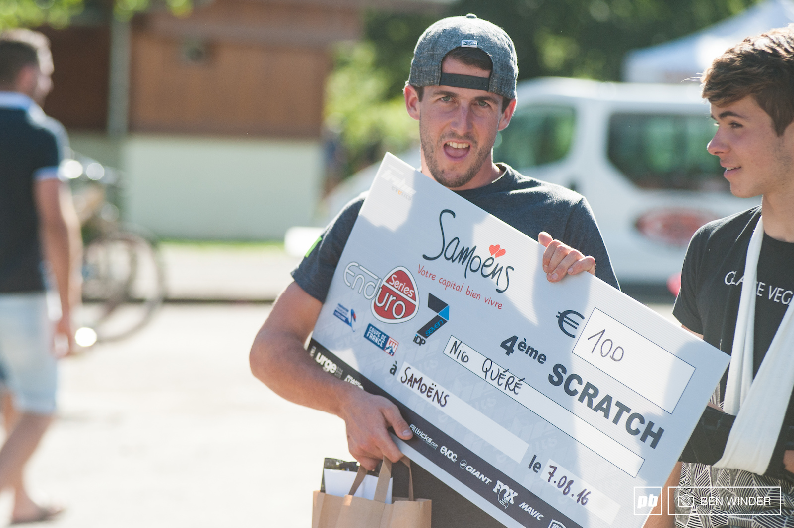 Nico Quere and his winnings. That s all for the French Enduro Series for this year except the Enduro World Series stop. The series here is over now though see you next year
